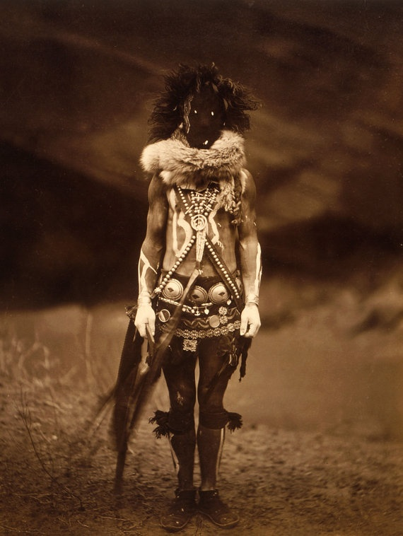 Native American Indian , Edward S Curtis