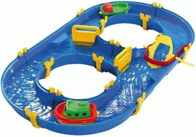 The BIG-Waterplay Rotterdam is the ideal beginner's waterway set for children from the age of 3 years. The waterway is easy to assemble. BIG WATERPLAY Rotterdam #aquaplay#water#outdoors#waterplay#boat #toys2learn#preschool#toddler#Australia