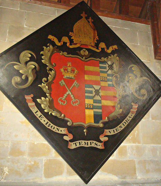 [14889] Bishopthorpe : Hatchment by Budby, via Flickr