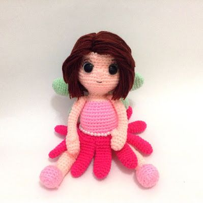 Daffodil Spring Fairy Amigurumi Crochet Pattern : 17 Best images about Crochet ideas on Pinterest Free ...