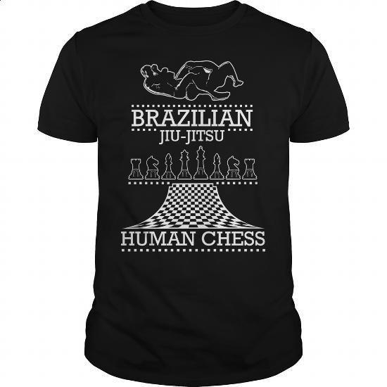 Brazilian Jiu-Jitsu Human Chess - #mens casual shirts #hoodies for boys. ORDER NOW => https://www.sunfrog.com/Funny/Brazilian-Jiu-Jitsu-Human-Chess-Black-Guys.html?60505