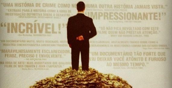 Assisti ao documentário 'Trabalho interno' em meados de 2011. De forma objetiva, o filme explica a trajetória da crise econômica que abalou o mundo em 2008. Um retrato impressionante do mercado financeiro e suas entranhas. (Clique na imagem para ler mais)