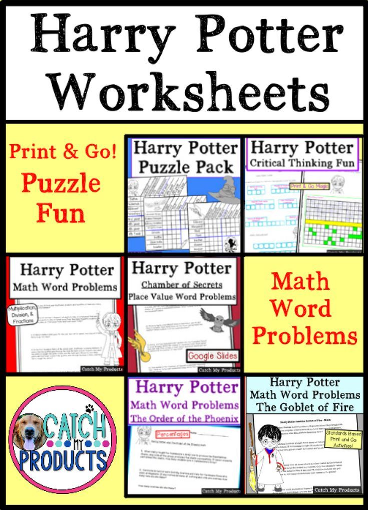 Teachers Harry Potter Activities Involving Logic Puzzles W Grid Brain Teasers Awesome Problem So Math Word Problems Math Words Teaching Critical Thinking