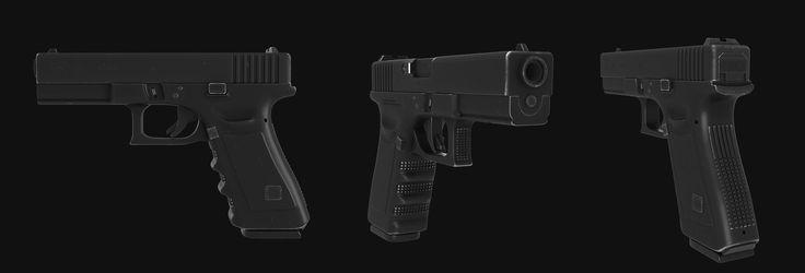Glock22 Glock 22 3D Max - 3D Model