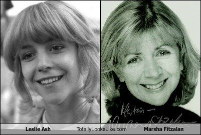 Marsha Fitzalan totally looks like Leslie Ash