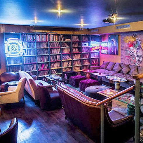 16 London Bars All Book Lovers Must Visit -  Far Rockaway, Shoreditch  Mix it up with a super afternoon at Far Rockaway, which has a massive comic book library to explore while you enjoy a signature drink from the full bar.
