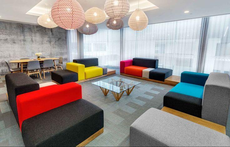 Bolon flooring in Queens Riverside Apartments in Perth, Australia