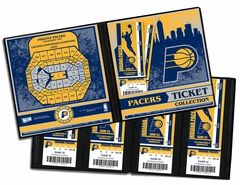 Indiana Pacers Ticket Album - One trip to an NBA arena can provide a lifetime of memories. And the ticket that opened the door, the actual game ticket, can help capture those memories forever. So whether you have a large ticket collection or you're just starting out, a Ticket Album is the perfect item to store, display, and protect your memories.