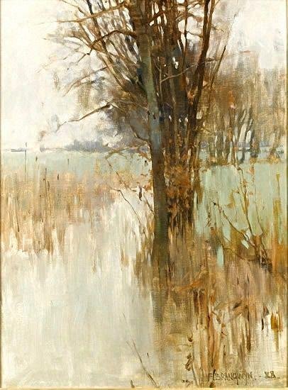 Frank Brangwyn - flood time