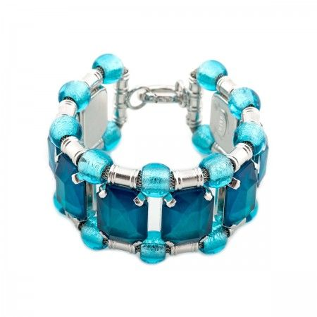 Bracelet With oversized water stones