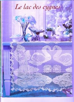 233 best images about crochet swans on pinterest filet. Black Bedroom Furniture Sets. Home Design Ideas