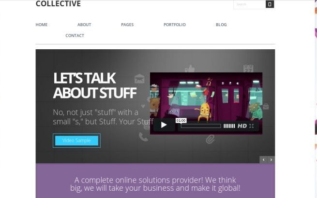 WordPress Themes themefuse Collective
