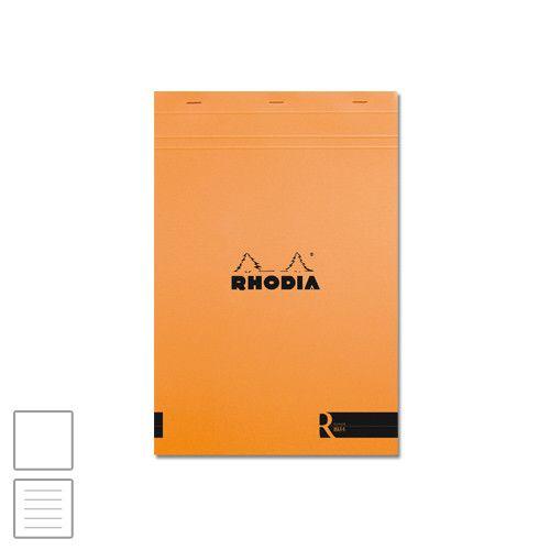 Rhodia R Head-Stapled Notepad No.18 A4 (210 x 297) Orange