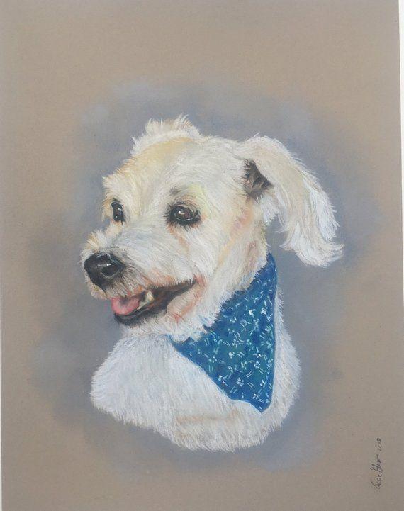 d6cf5454671c I will draw your custom pet portrait original art in soft pastels , check  my Etsy shop