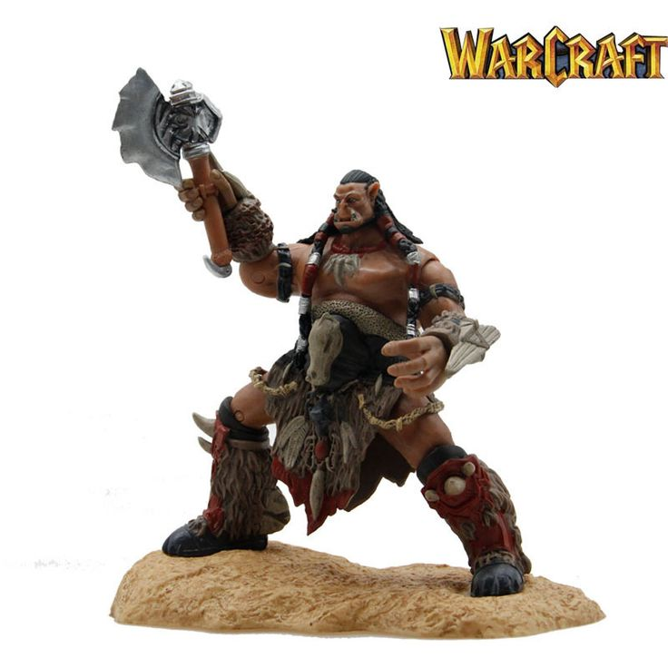 Dota 2 Durotan Orgrim Doomhammer Frostwolf Clan Action Figure Toys Games //Price: $43.50 & FREE Shipping //     #actionfigure