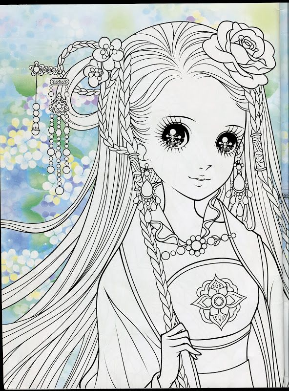 52 best images about coloring pages manga anime on