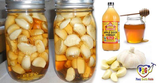 Естественное сочетание чеснока, яблочного уксуса и меда может лечить диабет, ожирение, диспепсию и многое другое! | KaifZona.Ru
