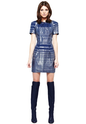 GINGER & SMART - BETWEEN SOMEWHERE & NOWHERE AW13 - Lucent Dress with Sleeve