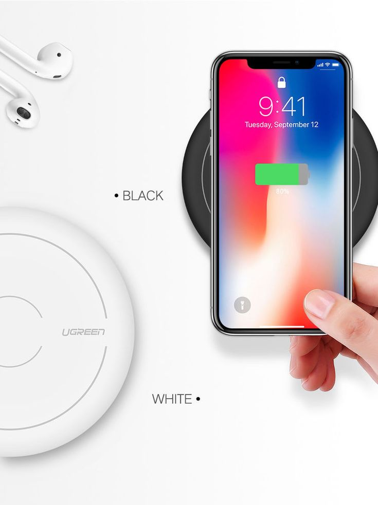 Ugreen 10W Qi Fast Wireless Charging Pad for iPhone X/8/8+ Samsung S6/S7/S8 #Ugreen