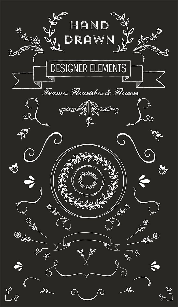 free hand drawn logo vectors and clip art