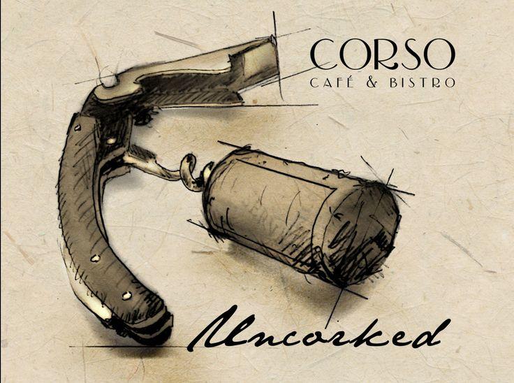 Wine tasting every second Thuesday @Leslie Mariani  www.facebook.com/cafecorso  #winetasting#corso#