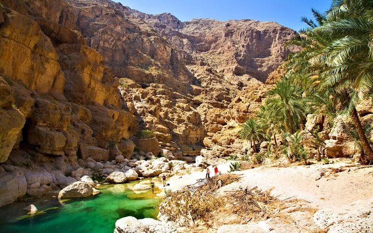 Wadi Shab Oman Travel