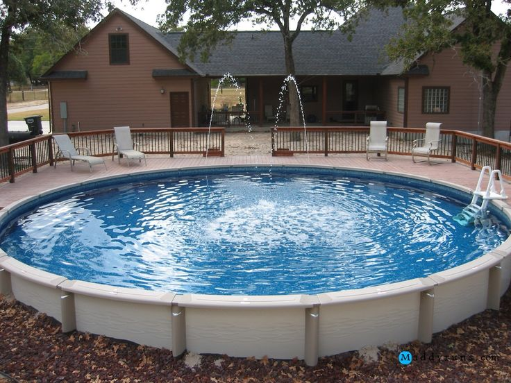 177 best images about swiming pool on pinterest above for Above ground pool ladder ideas