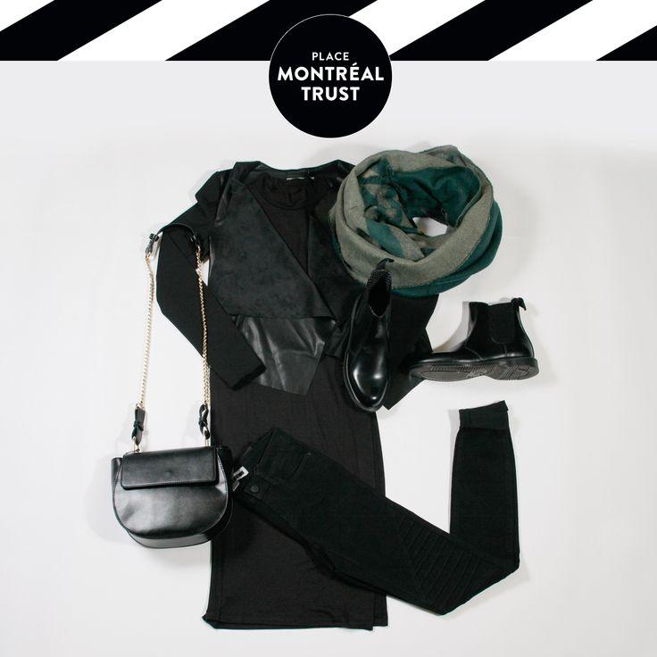 #PMTLook  « #Black is the new black » #OOTD #Fashion #Shopping #Mtl #VeroModa #Winners