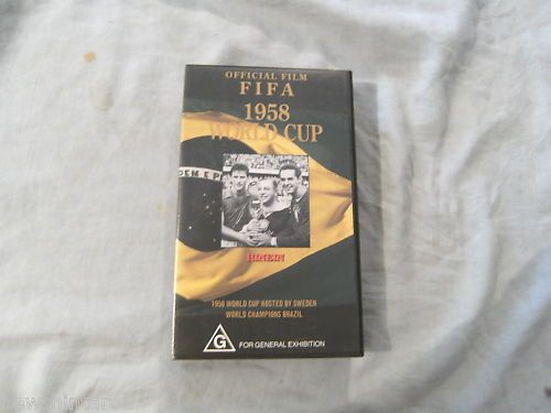 SOCCER FOOTBALL  VIDEO - FIFA 1958 WORLD CUP  | eBay