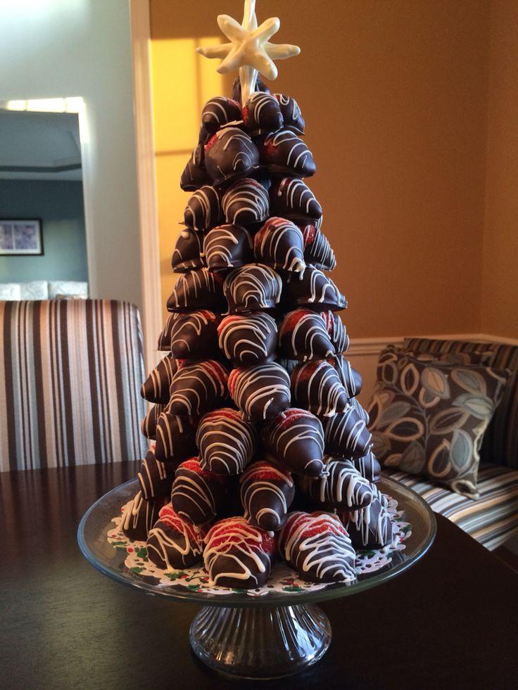 Chocolate covered strawberry tree.