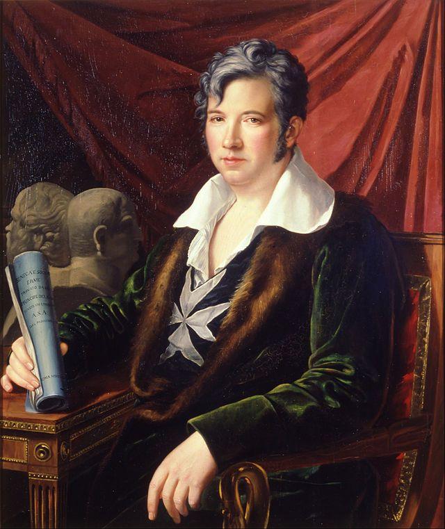 Retrato de Manuel Godoy. 1813 by José de Madrazo