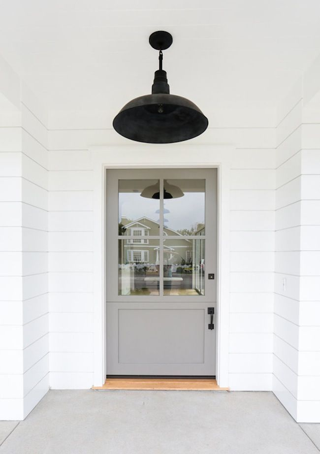 The prettiest grey door & Best 25+ Beach style interior doors ideas on Pinterest | Beach ... Pezcame.Com