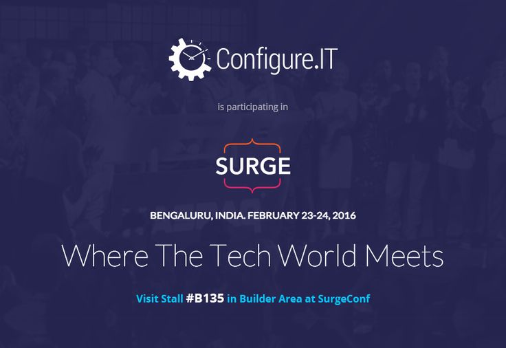 Configure.IT Participates in SURGE 2016 #iOS #Android #Technology #Events #ConfigureIT