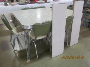 1950 Chrome Tables | 1950u0027S Chrome Dinette Table/Chairs   $175 (Dubuque) For