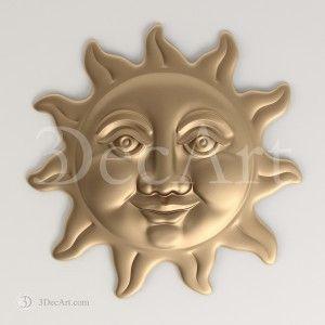 Rn_014 | 3D Model merry sun