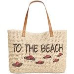 Style & Co To The Beach Straw Tote,