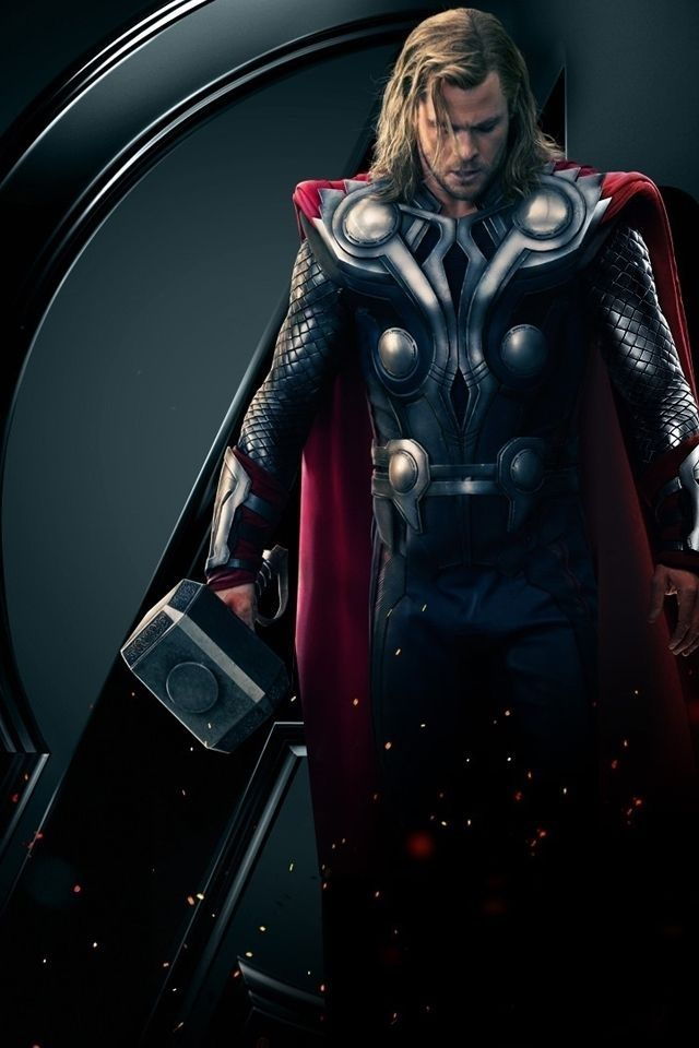 Superhero wallpapers for iPhone (5) Marvel images, Thor