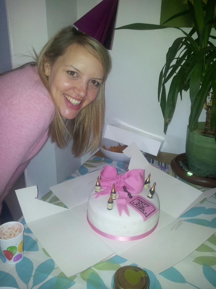 Another happy birthday girl with her yummy cake x