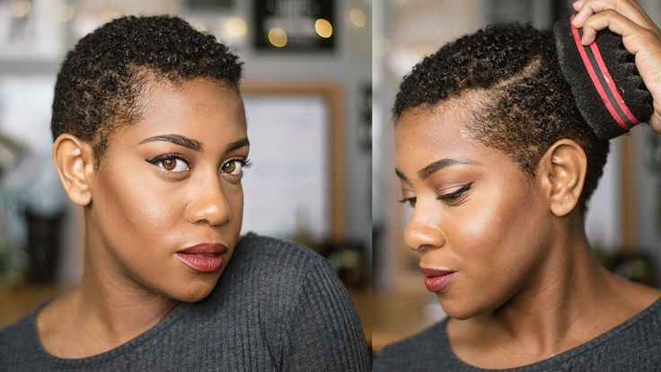 How To: STYLING BIG CHOP / Defining my TWA | 4b 4c wash n go