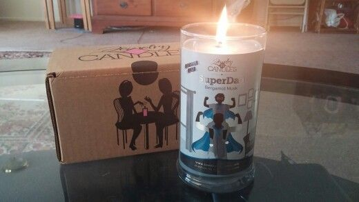 my father's day candle cant wait to see my jewelry and what prize i win. Go to www.specialcandleswithtammy.com get yours! One if our best men's scents!