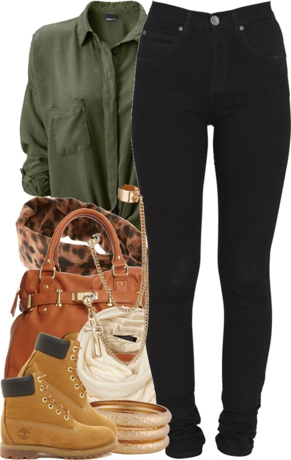 Find this Pin and more on My Style. Timberland boots with nice casual Outfit - Best 25+ Timberland Boots Women Ideas Only On Pinterest