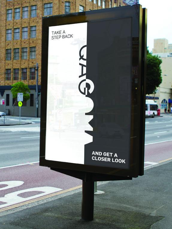 The Queensland Art Gallery by Interbrand Australia.