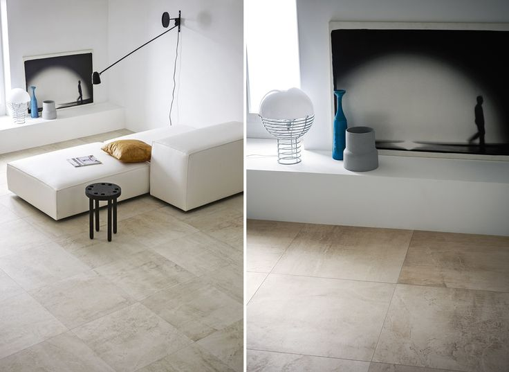 Inspired by ancient concrete structure. Available in four colours and two sizes - 600X600 and 300X1200 #tile #porcelain #texture #design