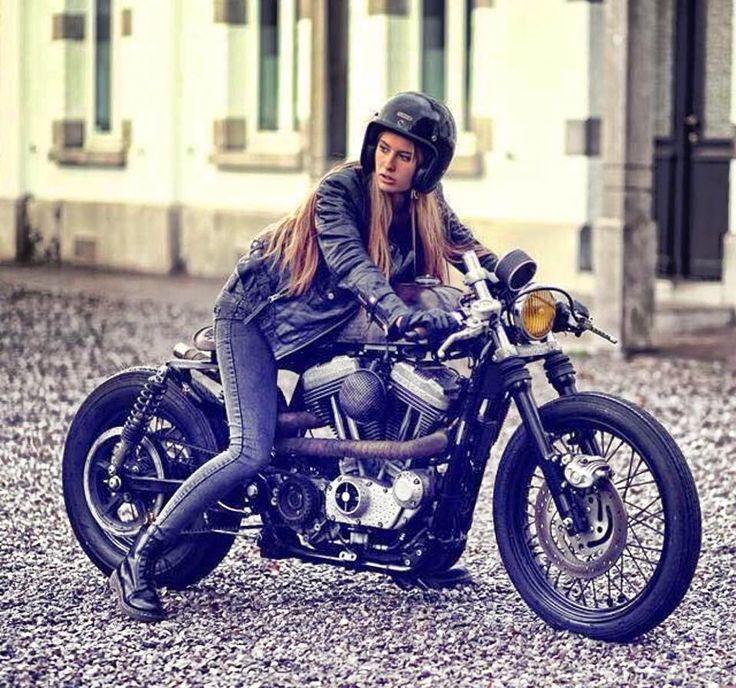 画像  【美女×バイク】海外のライダー系女子がとにかく美しい!