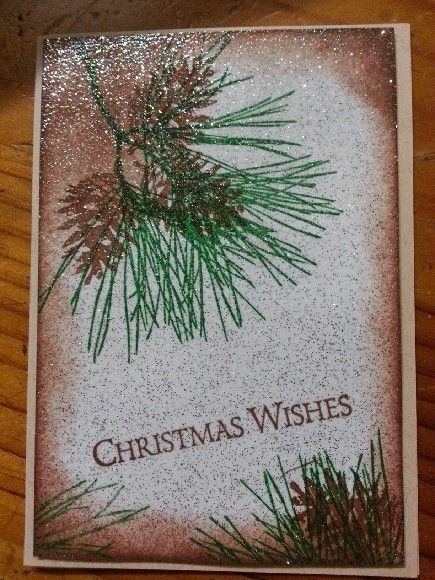 Another of the last Cards I made this year