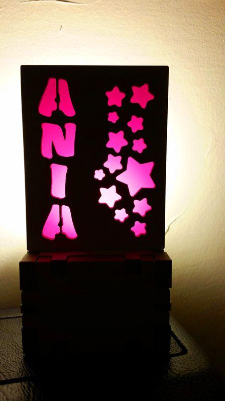 Lamka z imieniem, lampki z imionami, lamp with name, lamps with names