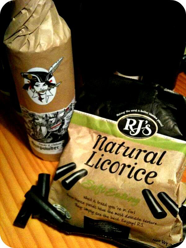 Full-flavoured rum and natural licorice - but of course!