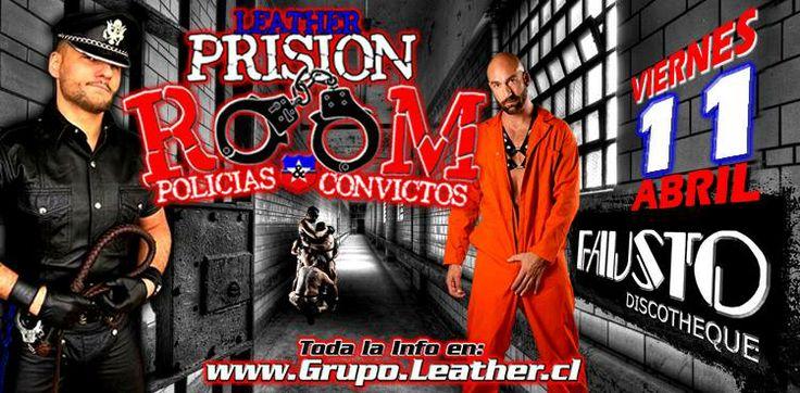 """FIESTA GRUPO LEATHER """"PRISION LEATHER POLICIAS Y CONVICTOS"""" - 11 DE ABRIL"""