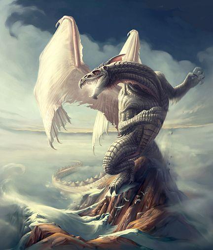 Winters dragon