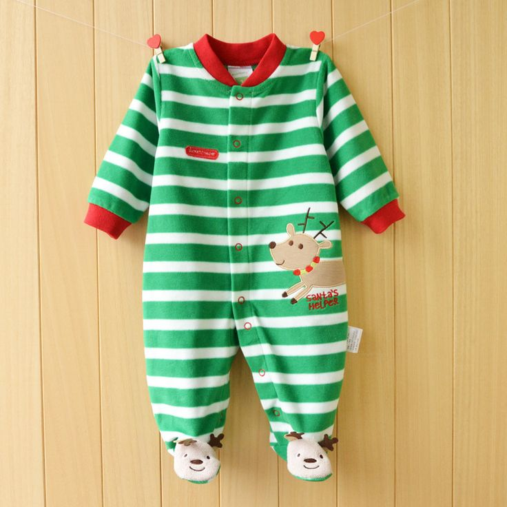 Autumn Baby Rompers Christmas Newborn Baby Clothes Spring Baby Boy Clothing Roupa Infant Jumpsuits Cute Baby Girls Clothes